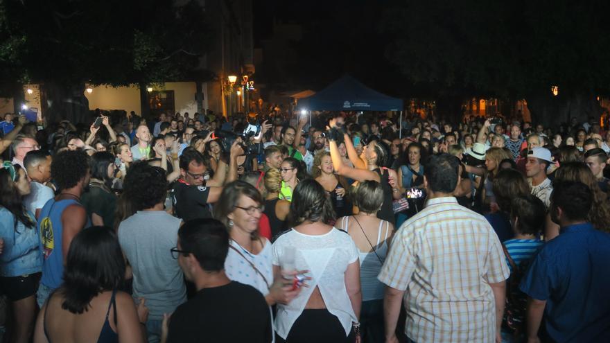 El público disfrutó de una noche de música reivindicativa.