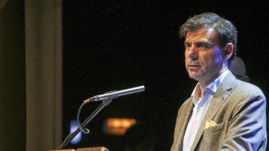 El presidente de la Confederación Empresarial de Economía Social de Navarra.