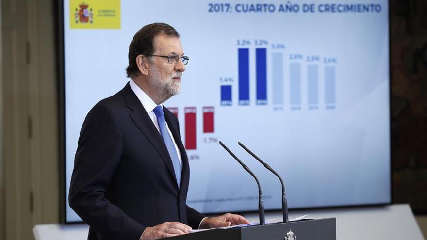 Rajoy asegura que la economía ha recuperado el nivel de antes de la crisis