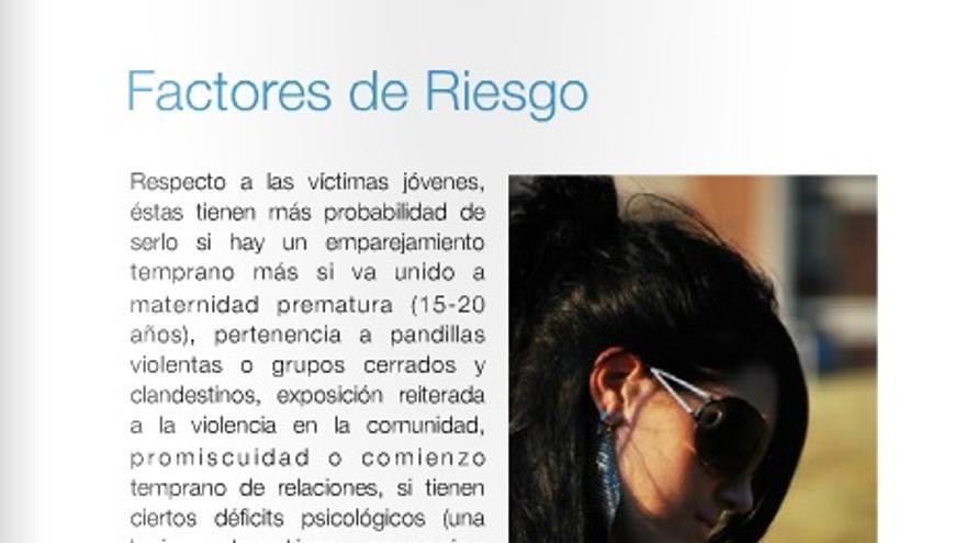 Mujeres en Igualdad considera que la promiscuidad es un factor de riesgo ante la violencia de género