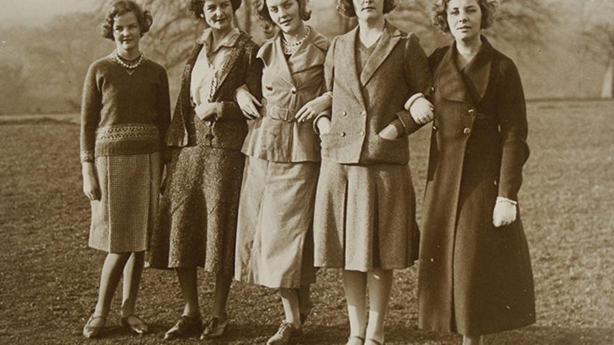 Cinco fabulosas hermanas Mitford
