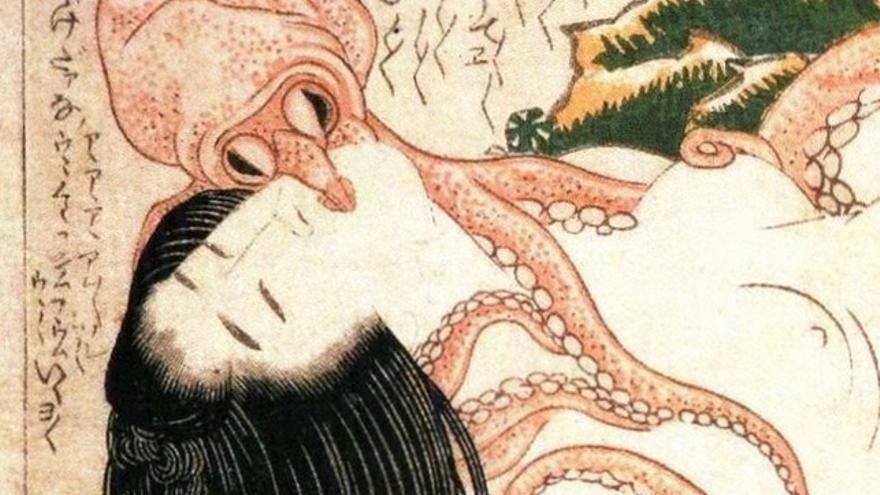 Foto: Ukiyo-e de Katsushika Hokusai