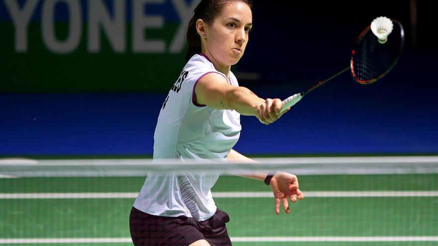 Beatriz Corrales no pudo superar la primera ronda