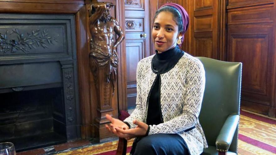 Alaa Salah, icono de las protestas en Sudán: Los jóvenes rechazan abusos en nombre de la religión