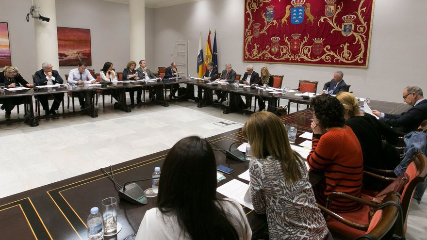 Comisión de Presupuestos, Economía y Hacienda del Parlamento de Canarias.