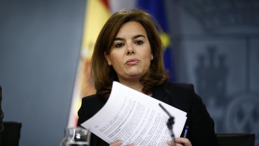 Soraya Sáenz de Santamaría se reúne este lunes con la comisión gestora del PPN