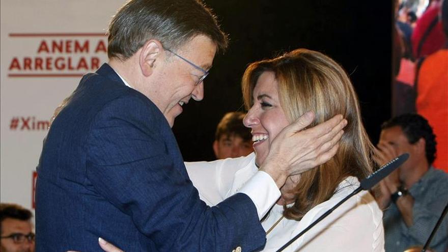 """Susana Díaz afirma que será presidenta de Andalucía """"se ponga Rajoy como se ponga"""""""