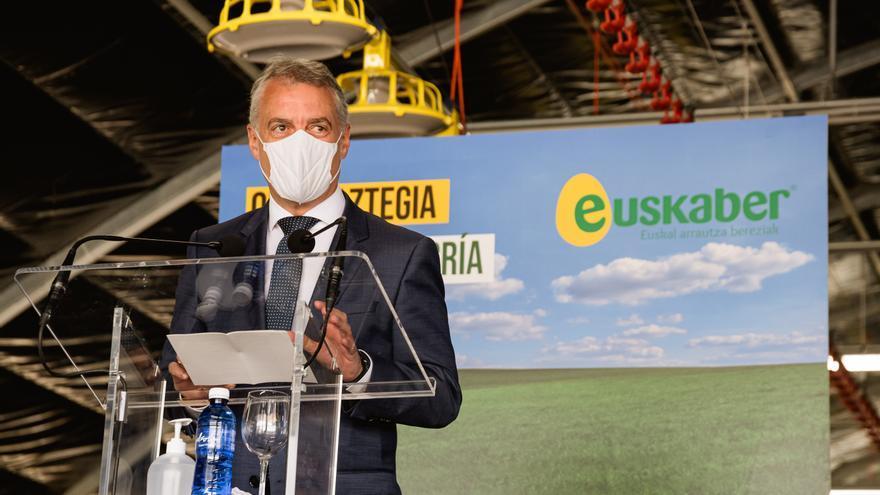 Urkullu pide a Sánchez retomar mascarillas y un marco legal para los toques de queda