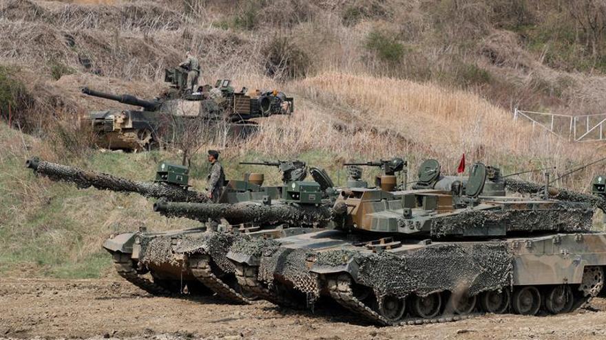 Seúl y Washington inician maniobras tras la escalada de tensión con Pyongyang