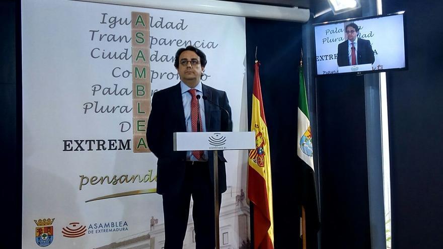 Consejero de Políticas Sociales, José María Vergeles