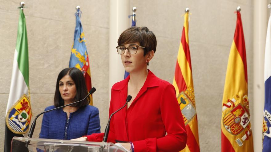 La presidenta de las Cortes de Aragón, Violeta Barba, en la pasada Conferencia de Presidentes de Parlamentos Autonómicos