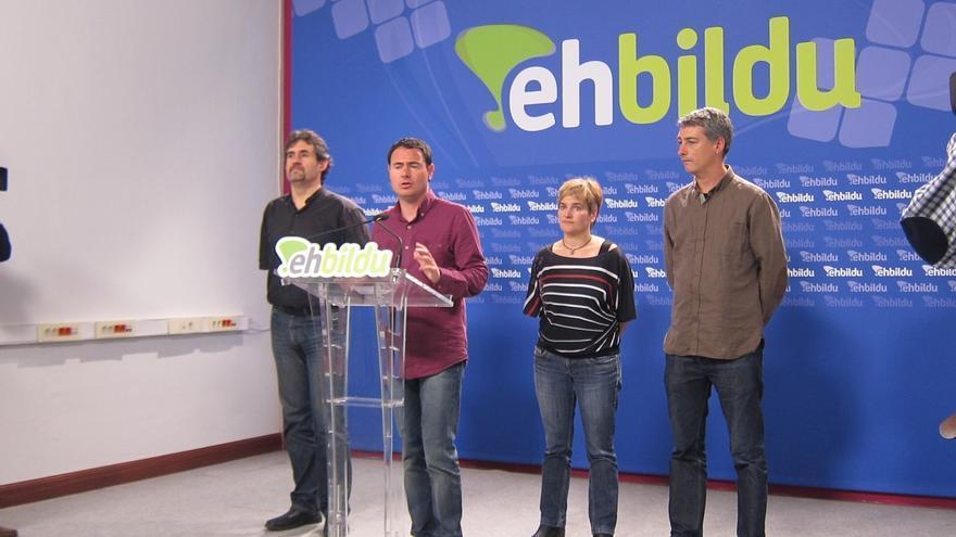 """Arraiz (EH Bildu) dice que los resultados reflejan que para la gente el """"cambio político"""" iba """"demasiado rápido"""""""