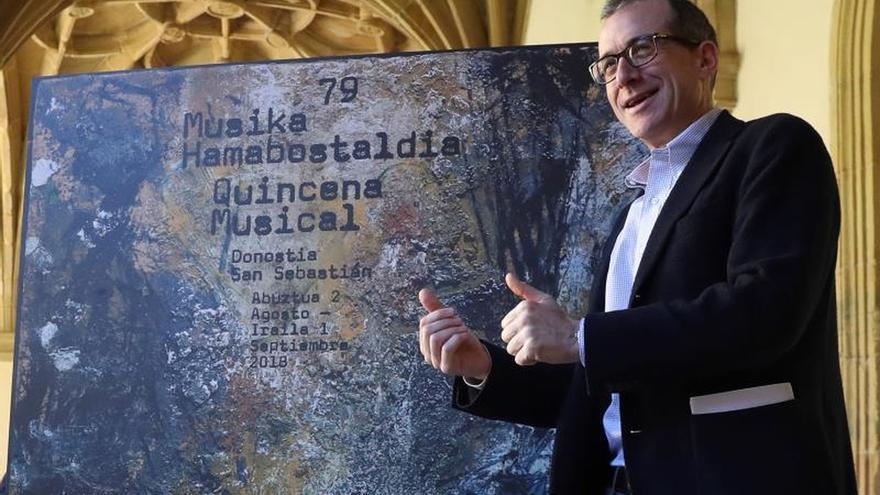 """San Sebastián hará de su Quincena Musical """"un pequeño festival de cámara"""""""