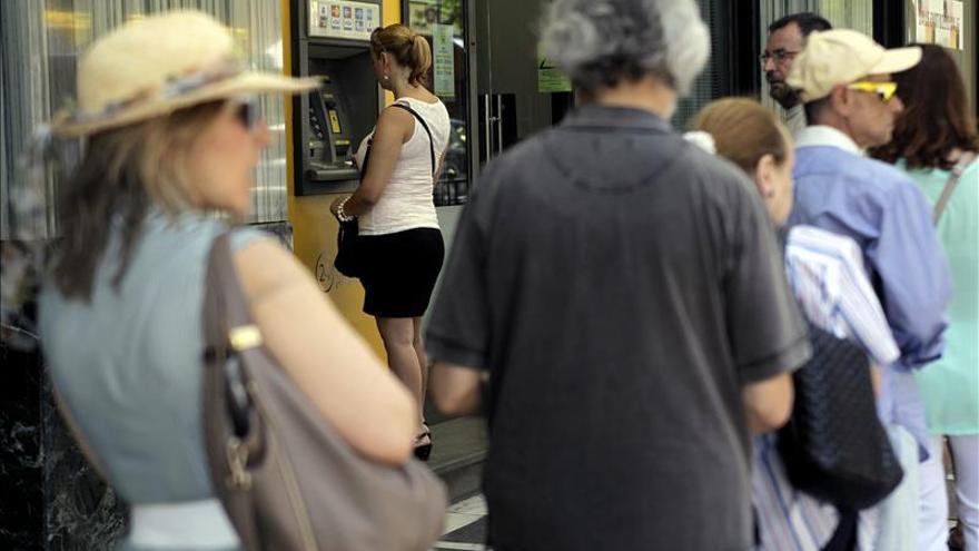 El BCE mantiene la liquidez de emergencia para los bancos griegos