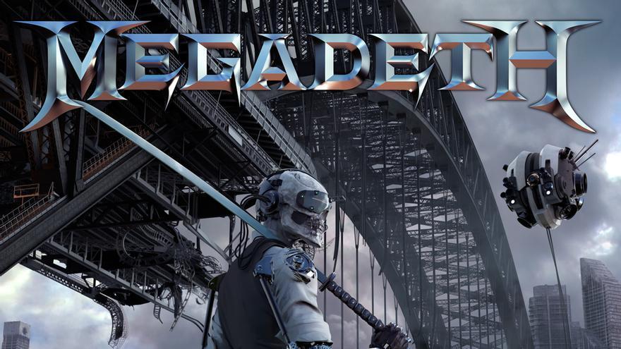 Portada del disco de Megadeth Dystopia
