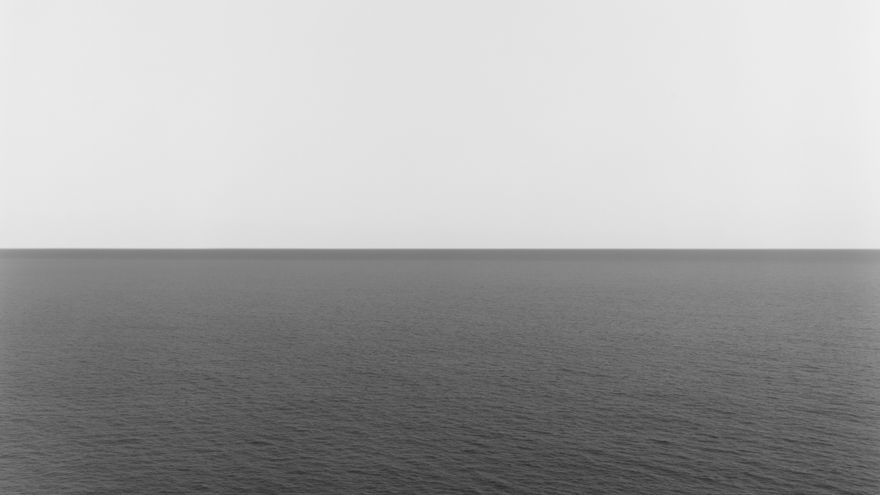 """Tyrrhenian Sea"" de Hiroshi Sugimoto"