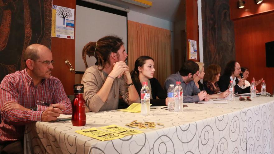 Diputados en el II Foro Encuentro Regional Podemos en Castilla-La Mancha