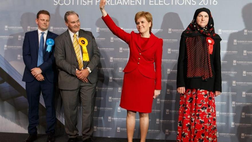 Los independentistas aspiran a formar Gobierno en minoría en Escocia