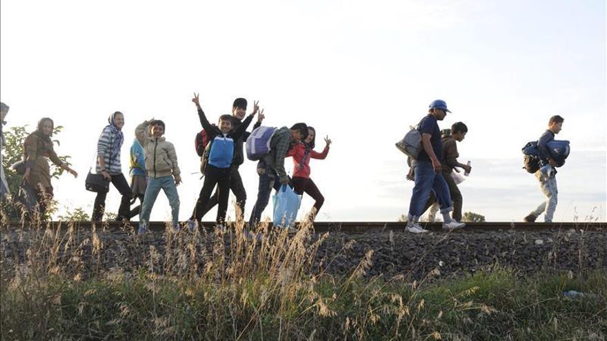 Unos 6.000 refugiados pasaron por Austria desde el martes por la mañana