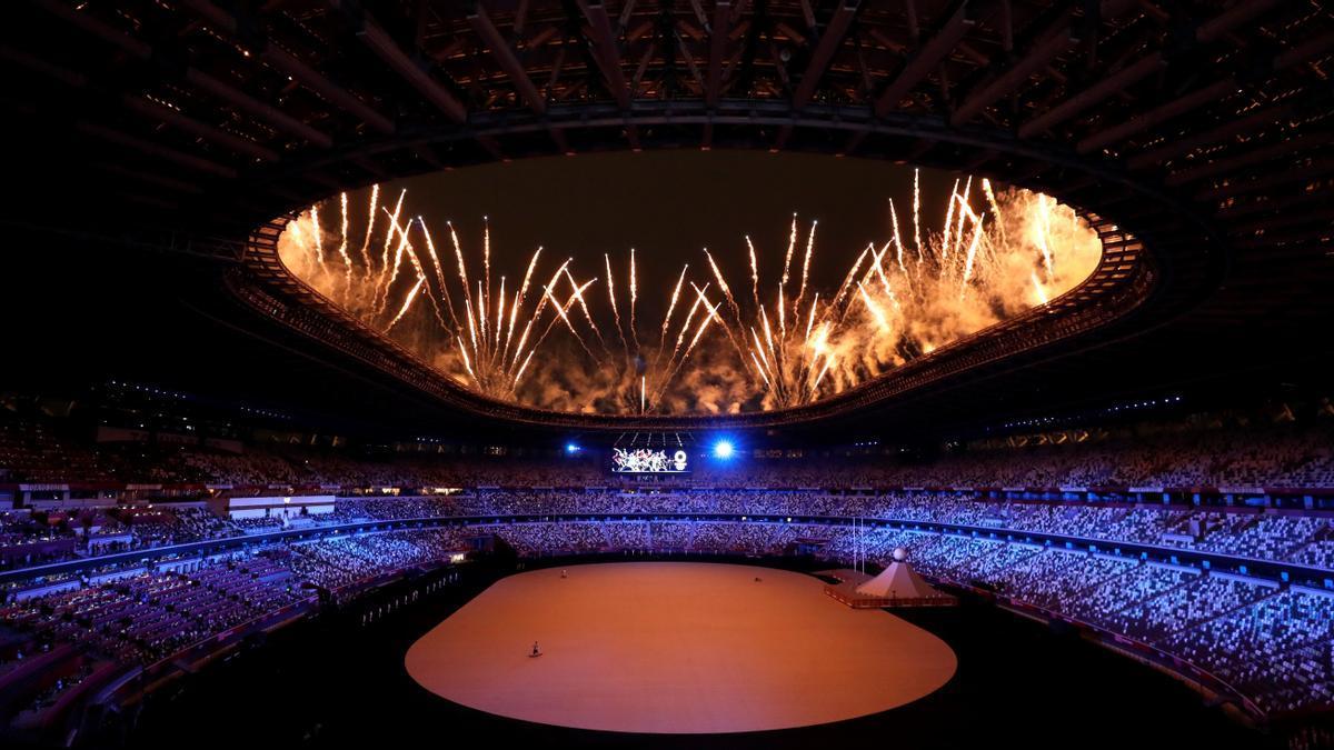Ceremonia de apertura de los Juegos Olímpicos