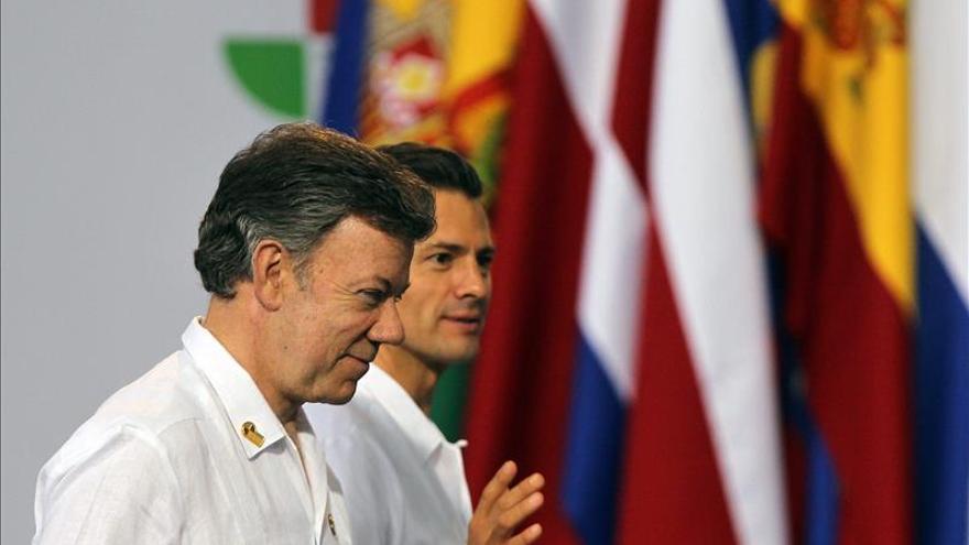 Santos viajará mañana a México para hacer el viernes una visita de Estado