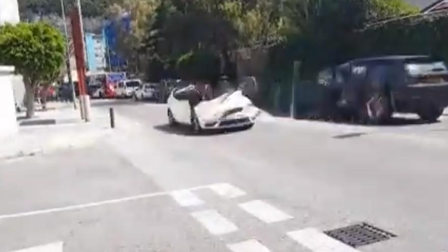 Así desaparece un coche con el algoritmo de Chris Harris