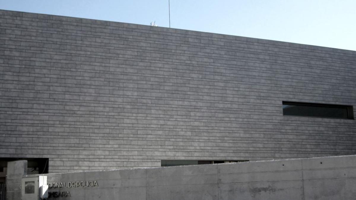 La comisaría de la Policia Nacional a Paterna.