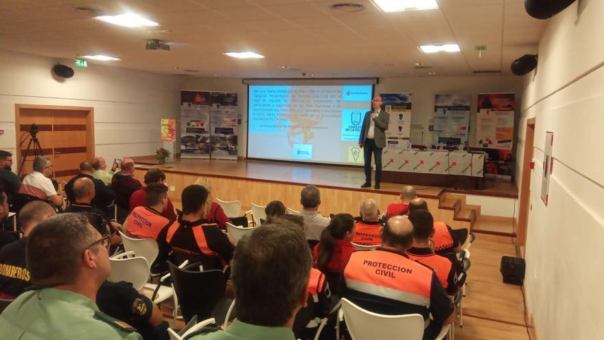 Intervención del subdirector de Protección Civil y Emergencias del Gobierno de Canarias, Néstor Padrón.