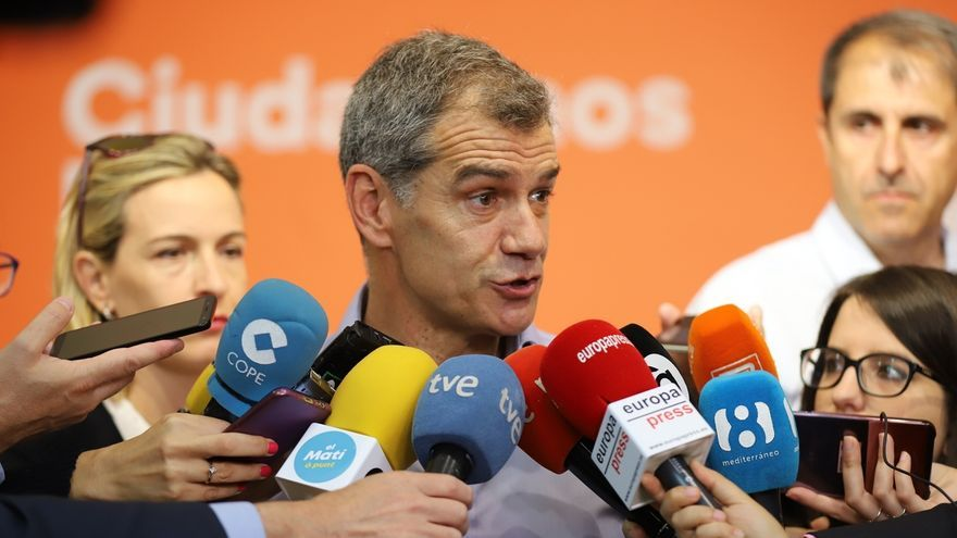"Cantó (Cs) valora el ""ejemplo"" de Villegas, De Páramo, Girauta y Rivera: ""Son gente que asume responsabilidades"""