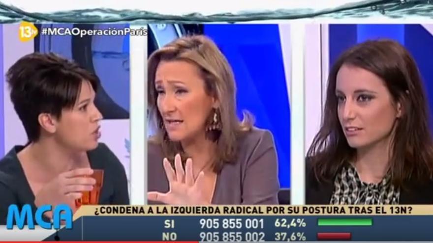 Isabel Durán expulsa a Beatriz Talegón de una tertulia en 13TV