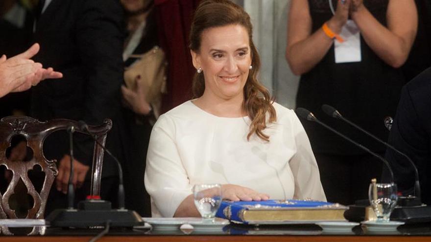 """La vicepresidenta argentina, segura de que estos comicios """"consolidan el cambio"""""""