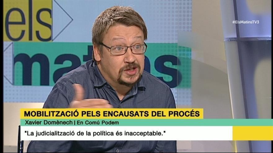 """El líder de EnComúPodem critica que la CUP vaya a apoyar los Presupuestos a cambio de """"otro 9N"""""""