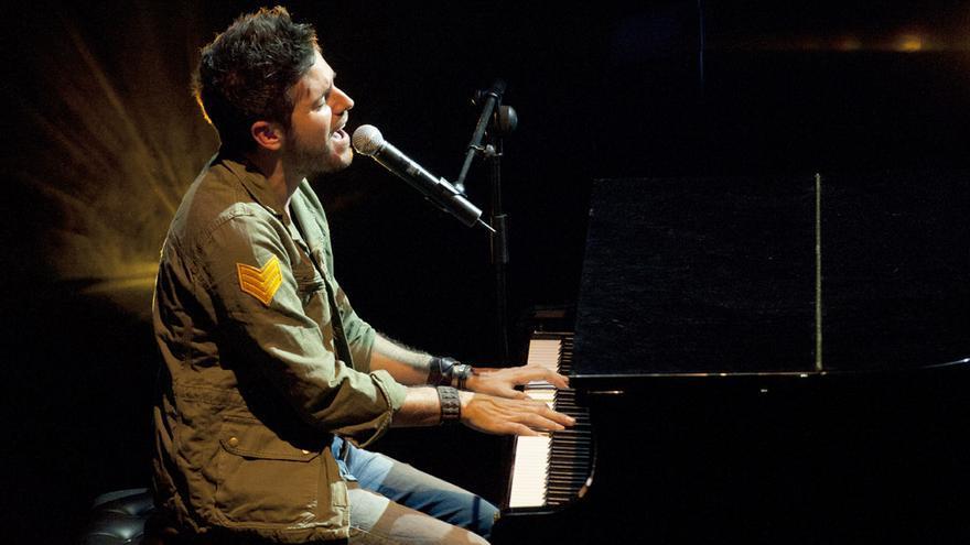 El cantante Pablo López actuará en el Circo de Marte.