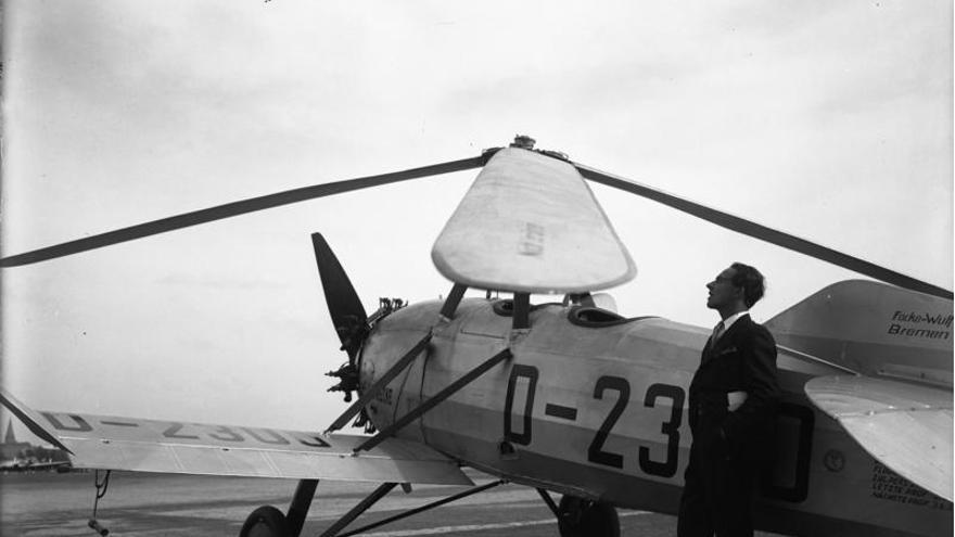¿A qué problemas se debería enfrentar ahora Juan de la Cierva, el inventor del autogiro? (Foto: Wikipedia.org)