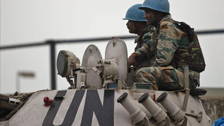 Acusados varios cascos azules ucranianos en la RDC por tráfico de uniformes