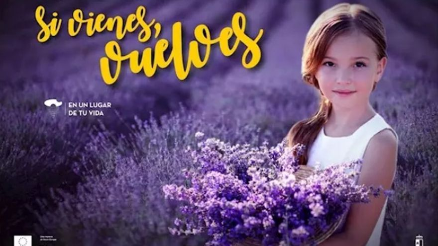 Una de las campañas publicitarias de la Junta de Castilla-La Mancha en 2019
