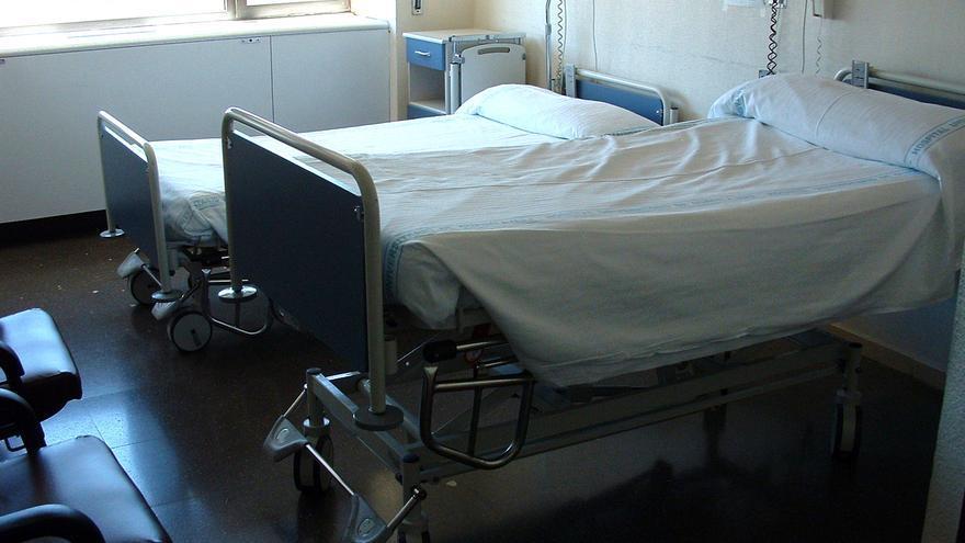 Camas en el Hospital de Guadalajara, foto oficial.