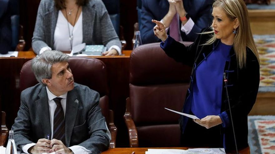 El Gobierno recurre el pacto de la Justicia madrileña y Cifuentes lo defenderá