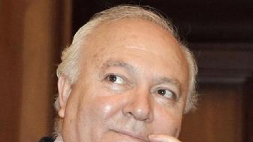 El ministro de Asuntos Exteriores y de Cooperación, Miguel Ángel Moratinos