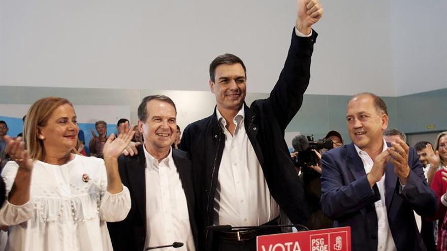 Sánchez: Fuimos a elecciones con un no a corrupción, a desigualdad y a Rajoy