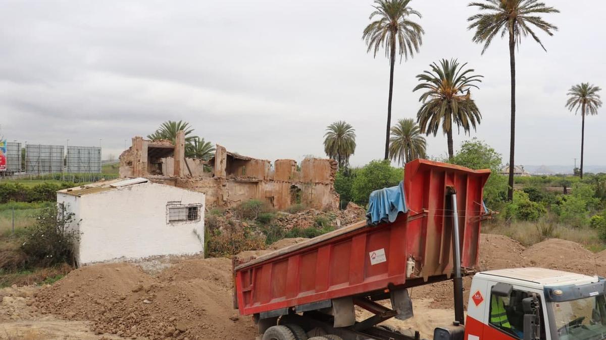 Denuncian el entierro de la casa del revolucionario murciano Antonete Gálvez