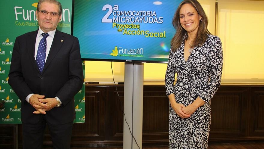 Andrés Gómez Mora y Ana López Casero / Fundación Caja Rural Castilla-La Mancha