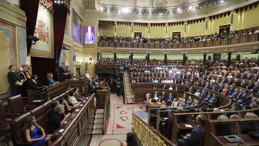 """El Rey homenajea a las víctimas del terrorismo de ETA """"felizmente derrotado"""""""