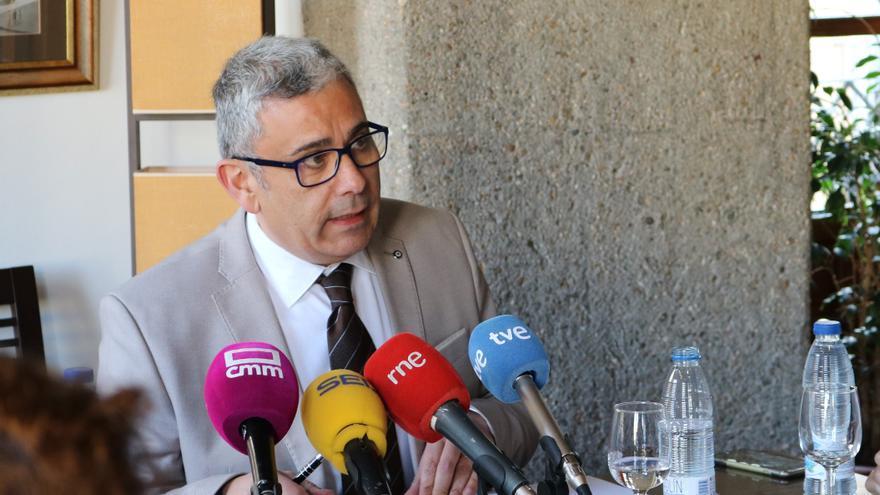 El secretario general de UPTA de Castilla-La Mancha, César García