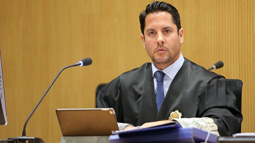 El fiscal Javier Ródenas, en el reciente juicio del caso Yate.