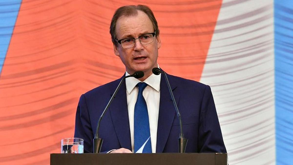 El gobernador de Entre Ríos, Gustavo Bordet.