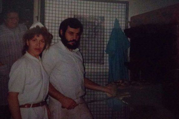 María Luisa y Manolo, en 1980