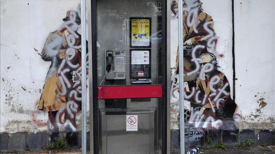 Un mural de Banksy arrancado de una pared en Inglaterra se venderá en EEUU