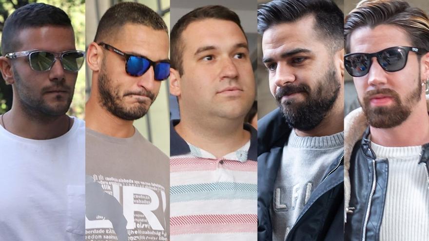 Detenidos los cinco miembros de 'La Manada' por una orden de búsqueda tras conocerse la sentencia del Supremo