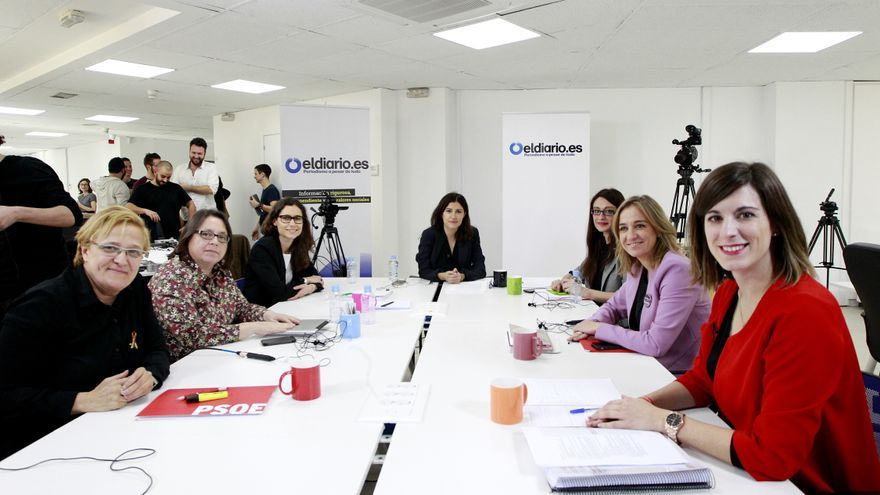 Debate a seis candidatas / Foto: Marta Jara